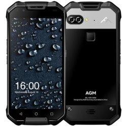 Мобильный телефон AGM X2 6/64 Gb Black Glass