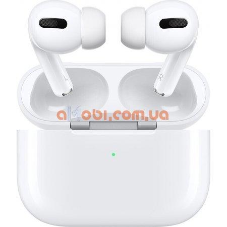 Наушники Apple Airpods Pro - 2020 с шумоподавлением и поддержкой беспроводной зарядки