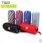 Колонка T&G TG-117 Bluetooth Мощная, Басистая, Портативная