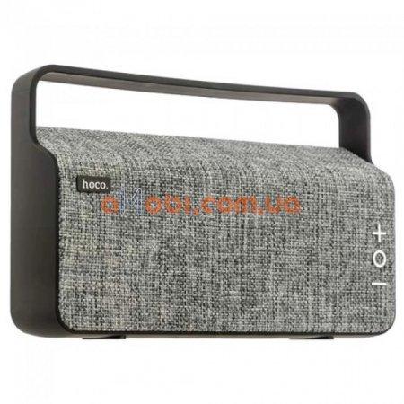 Портативная колонка Hoco BS10 Dibu Desktop Wireless Gray