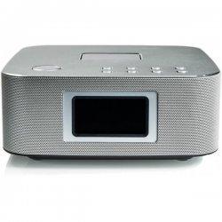 Портативная колонка Remax RB-H3 FM радио с будильником Silver