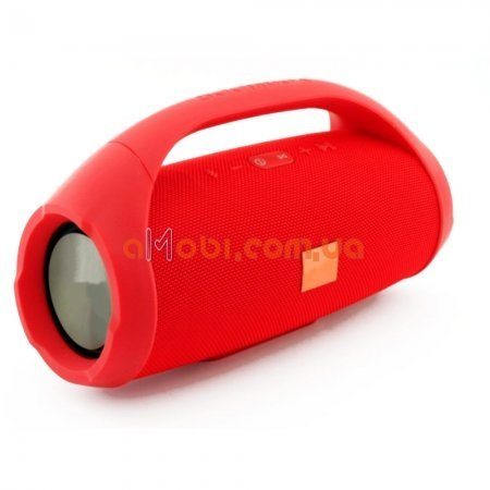 Колонка JBL BOOMBOX MINI E10 с USB, SD, FM, Bluetooth, 2-динамиками, хорошая реплика JBL Красный
