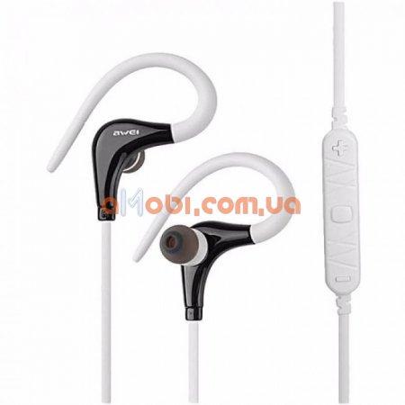 Беспроводные Bluetooth наушники Awei A890BL White