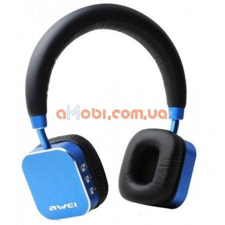 Беспроводные Bluetooth наушники Awei A900BL Blue