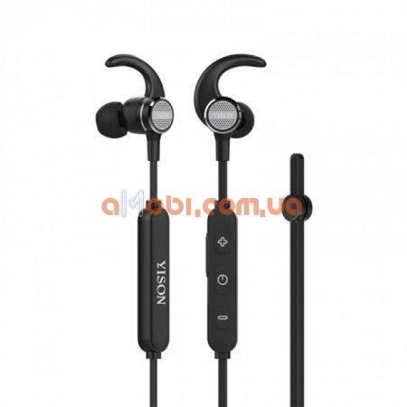 Беспроводные Bluetooth наушники Yison E6 Black
