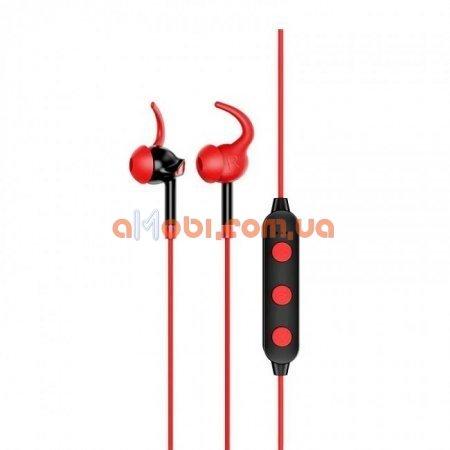 Беспроводные Bluetooth наушники Hoco ES30 Axestone sports Red