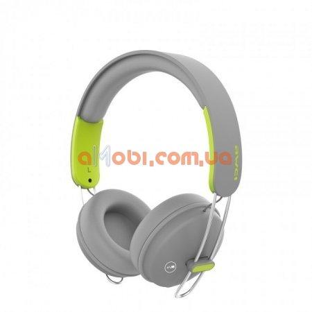 Беспроводные Bluetooth наушники Awei A800BL Grey