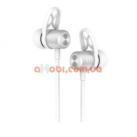 Беспроводные Bluetooth наушники Hoco ES14 Plus Silver