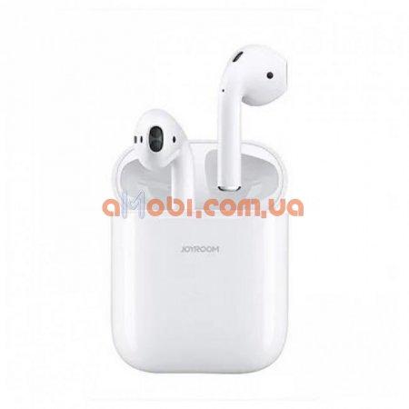 Беспроводные Bluetooth наушники Joyroom JR-T03S Bilateral TWS White