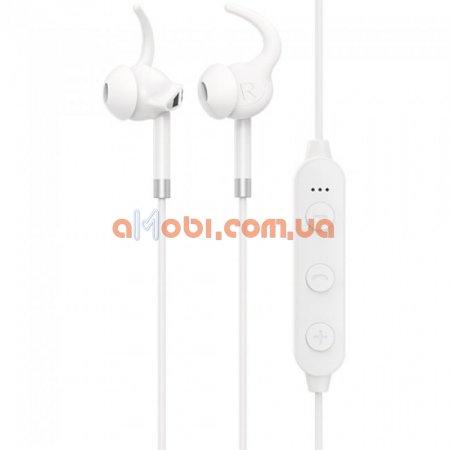 Беспроводные Bluetooth наушники Hoco ES30 Axestone sports White
