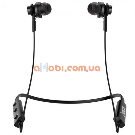 Беспроводные Bluetooth наушники Hoco ES18 Faery sound sports Black