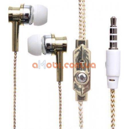 Наушники с микрофоном DK75i вакуумные проводные