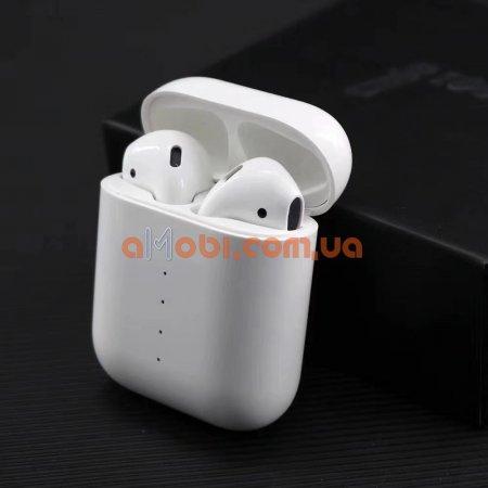 Беспроводные наушники i100 TWS Bluetooth с функцией беспроводной зарядки кейса.