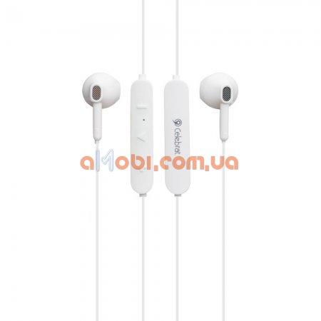Беспроводные Bluetooth наушники Celebrat A17 White