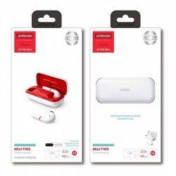 Беспроводные Bluetooth наушники Joyroom JR-T06 mini Bilateral TWS White