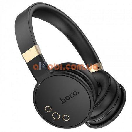 Беспроводные Bluetooth наушники Hoco W26 Enjoyment Black