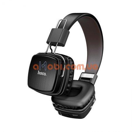 Беспроводные Bluetooth наушники Hoco W20 Gleeful Black