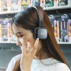 Беспроводные Bluetooth наушники Hoco W20 Gleeful Gray