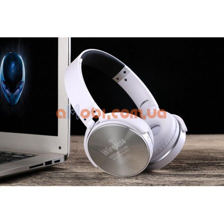 Беспроводные наушники Wireless Bluetooth, FM, SD