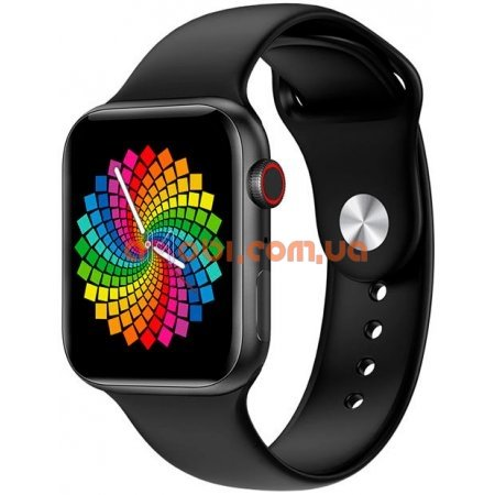 Смарт часы Apple Watch X6 Черные