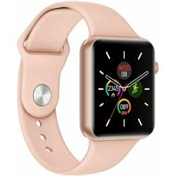 Смарт часы Smart Watch T500 + Plus Розовое золото