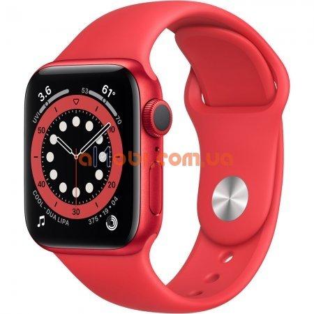 Смарт часы Apple Watch X6 Красные