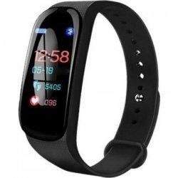 Фитнес смарт браслет Smart Band M5 Черный шагомер, фитнес трекер, пульс, монитор сна