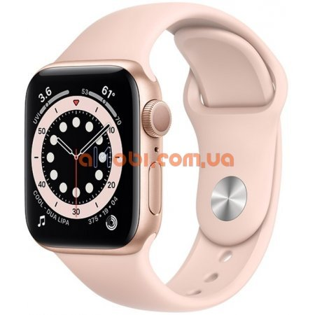 Смарт часы IWO13 Pro W56 - копия Apple Watch 6 Розовые