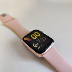 Смарт часы IWO13 Pro - копия Apple Watch 6 Розовые