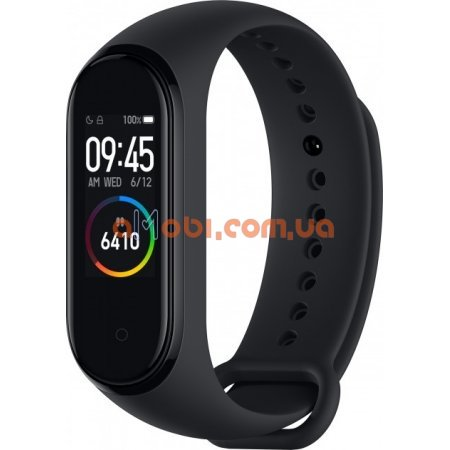 Фитнес браслет Xiaomi Mi Band 4 Black ORIGINAL CN