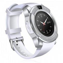 Cмарт часы Smart Watch V8 Сенсорные Белые