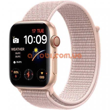 Смарт часы IWO FK88 Pro - копия Apple Watch 6 Розовые