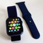 Смарт часы IWO FK88 Pro - копия Apple Watch 6 Синие