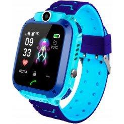 Детские смарт-часы S12 с GPS и Sim картой IP68 защита от воды и пыли