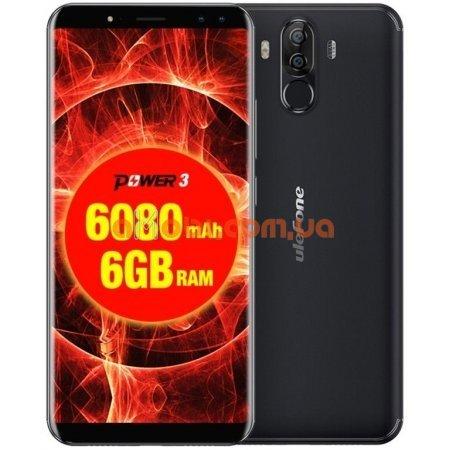 Мобильный телефон Ulefone Power 3 6/64 Gb Black