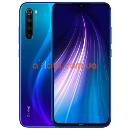 Мобильный телефон Xiaomi Redmi Note 8 3/32 Gb Neptune Blue Global Version
